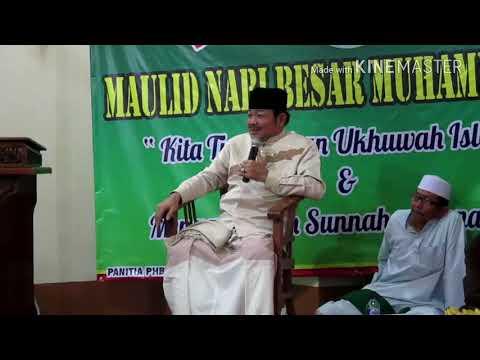 KH Abdurrahman Madinah peringatan Maulid Nabi Muhammad SAW di Masjid Al Muhajirin Bag 1
