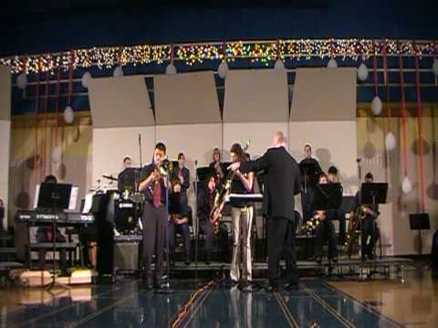 Holmes Middle School Jazz Band One - Chameleon