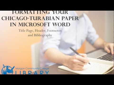 turabian paper header A1 nursing turabian guidelines unless otherwise instructed in writing by your course instructor, these formatting requirements apply to all formal papers completed for a.