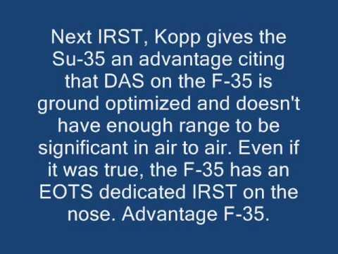 Su-35 vs F-35 - How? The interesting question for Carlo Kopp