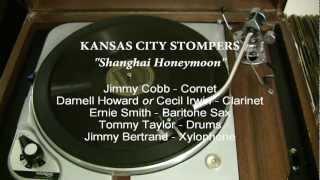 """KANSAS CITY STOMPERS (1929), """"Shanghai Honeymoon""""  Brunswick 7091"""