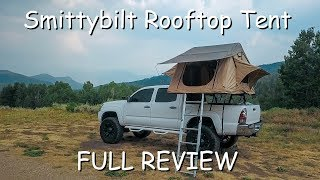 Smittybilt Rooftop Tent FULL REVIEW