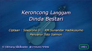 Download Mp3 59 Keroncong Langgam Dinda Bestari Hd