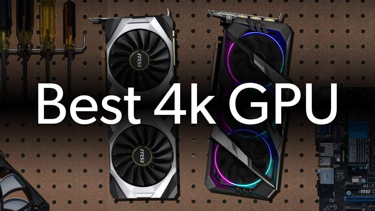 The best GPU for 4k gaming? (September 2019) | Ask a PC expert!!