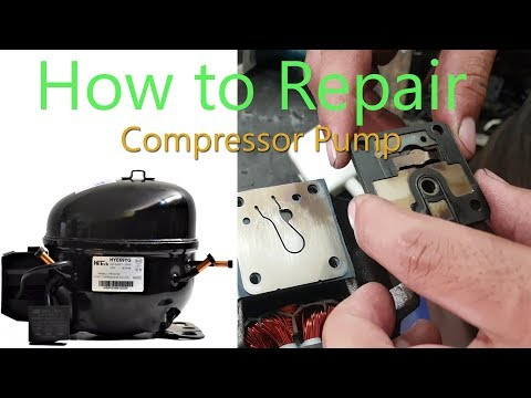 How To Repair Compressor Pump