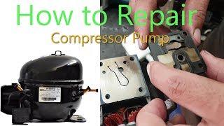 How To Repair Compressor Pump