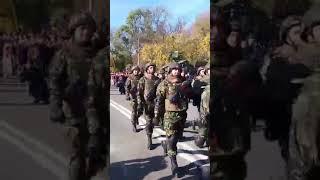 Defilarea Gărzii de Onoare la Carei