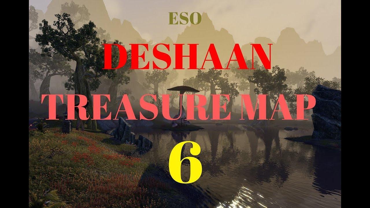 ESO DESHAAN TREASURE MAP 6 - YouTube on