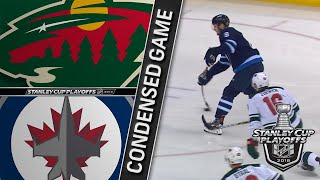 04/20/18 First Round, Gm5: Wild @ Jets