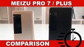 Meizu Pro 7 (Helio P25) vs. Pro 7 Plus (Helio X30)