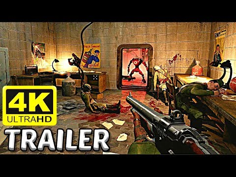 ATOMIC HEART New Gameplay Trailer (NEW 2018 FPS Soviet Union Game) PS4 / Xbox One / PC