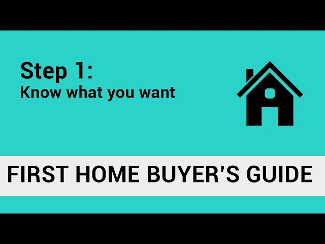First Home Buyer's Guide Step 1 | The Loan Room