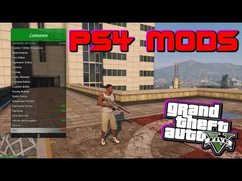 FREE] HOW TO GET MODS ON GTA 5 [PS4] - YouTube