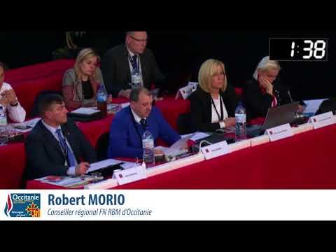 Occitanie - Intervention de Robert Morio sur la réforme de la formation professionelle