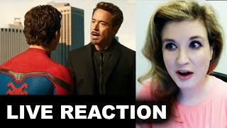 Spider-Man Homecoming Trailer 2 REACTION