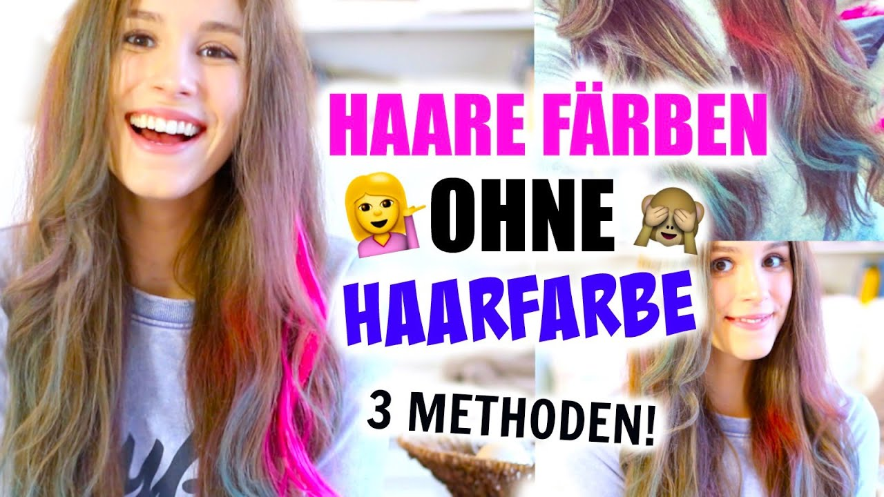 Haare Färben Ohne Haarfarbe 3 Methoden Barbieloveslipsticks