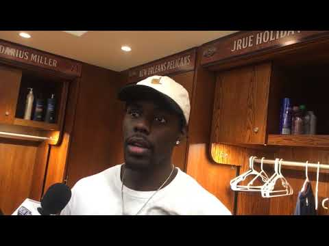 Jrue Holiday on his big 4th quarter in Tuesday