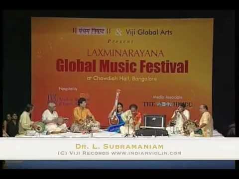 L. Subramaniam Live at the Lakshminarayana Global Music Festival