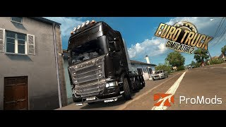 Euro truck simulator 2 -  99Hr road trip Part 2 -  Promods 2.30 with Rusmap