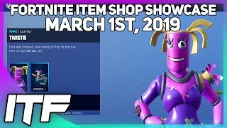 Fortnite Item Shop * NEW * BENDIE e TWISTIE SKINS! [1 de março de 2019] (Battle Royale do Fortnite)