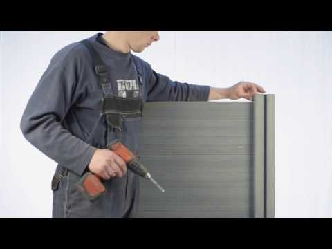 How to install InoWood composite fence panels