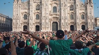 Download Video Betis Fans in Milano | Milan vs Real Betis- Ultras Way ✔ MP3 3GP MP4