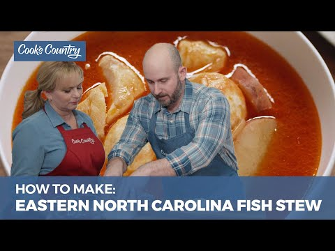How To Make Eastern North Carolina-Style Fish Stew