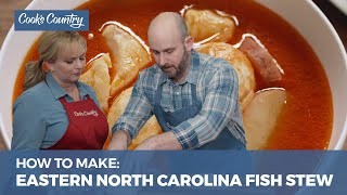 How to Make Eastern North Carolina-Style Fish Stew