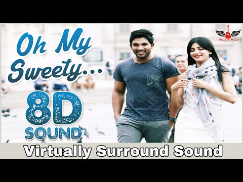 Sweety | 8D Audio Song | Race Gurram | Bass Boosted | Telugu 3D/8D Songs