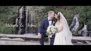 LA Arboretum wedding video,  Marisela & Joshua; with Led Robots. Amazing wedding venue.
