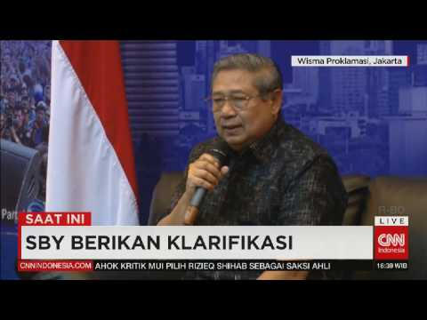 "SBY ""Curhat"" Soal Ahok, Penyadapan Hingga Ingin Bicara Blak-Blakan Dengan Presiden Jokowi"