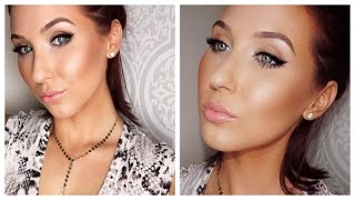 Daytime Glam - Soft Smokey Cat Eye | Jaclyn Hill