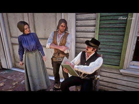 Dutch reads to Abigail and John Marston / Hidden Dialogue / Red Dead Redemption 2 thumbnail