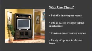 Guide To Corner Tv Stands