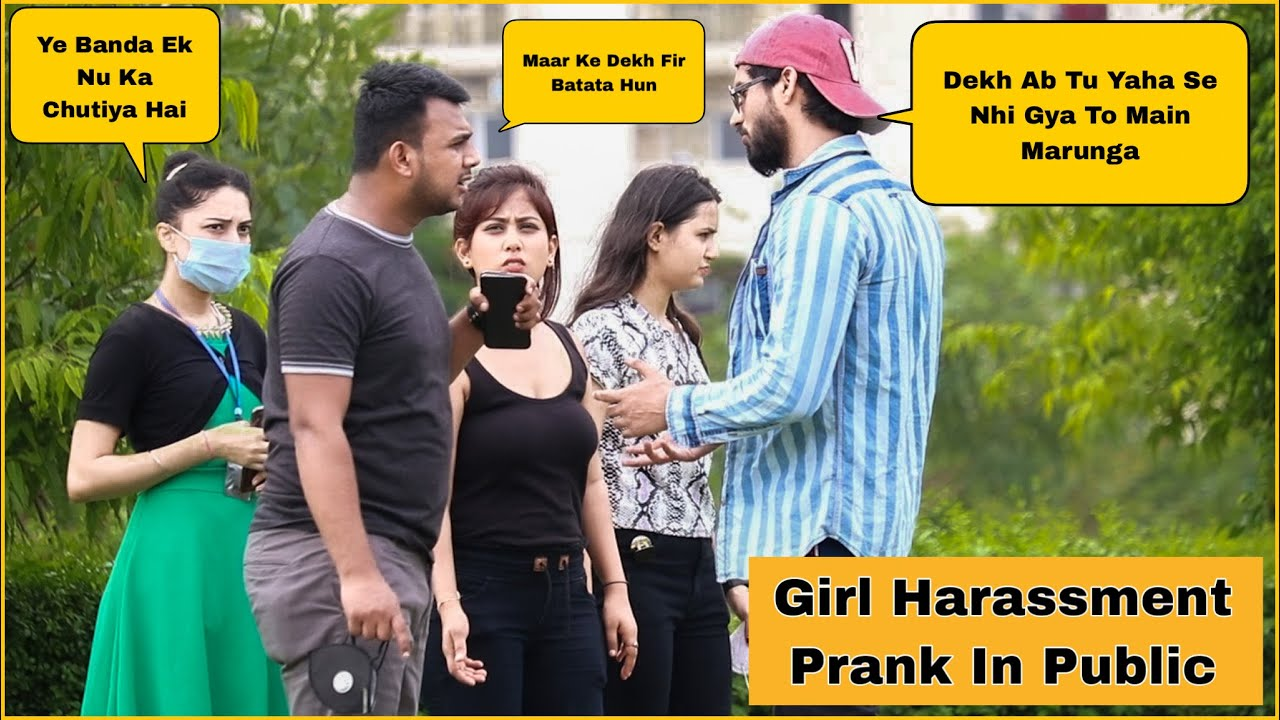 Girl Harassed Prank in Public Social Experiment Gone Wrong