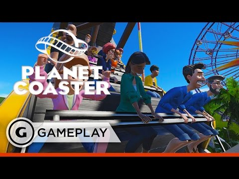 Planet Coaster Dev John Laws on Alpha 2 Upgrades