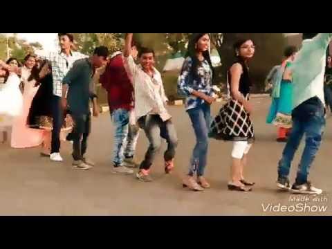 Janu Collage bhanva jateli | GUJARATI TIMLI 2017 ITM UNIVERSITY GIRLS DANCING