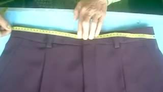 Video Cara Mudah Mengukur Celana - easy way to measure pants (DIY) download MP3, 3GP, MP4, WEBM, AVI, FLV Agustus 2018