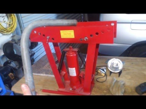 S&SCUSTOMS-How to bend pipe to make go-kart , mini bike frames etc