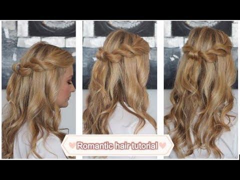 Halboffene Frisur Für Besonderen Anlass Oder Alltag ♥ Zart Und