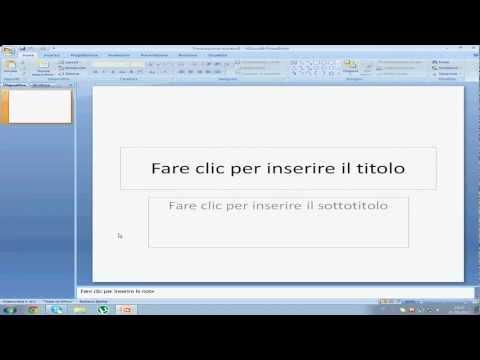 [TUTORIAL]Creare una presentazione con PowerPoint