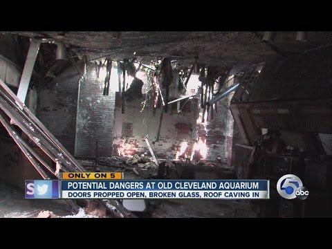 Abandoned Cleveland Aquarium closed 30 years