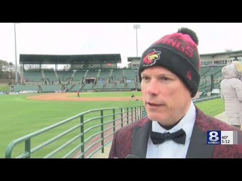 Rochester Red Wings To Open Season At Frontier Field Thursday Night