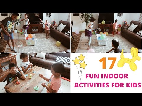 17 Fun things to do with your kids INDOORS