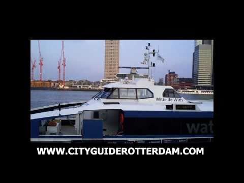 Waterbus Rotterdam - Fast Ferry departs from Rotterdam