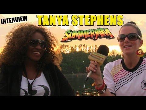 Interview with Tanya Stephens @SummerJam 2014