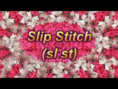 Learn to Crochet Lesson 6 – Slip Stitch  (sl st)