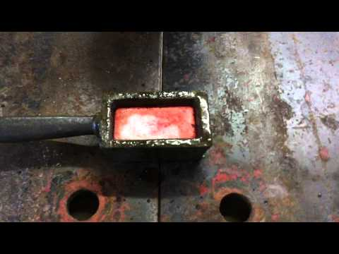 Silver Bar Pour: Part 1: 10 Ounce Loafing Around