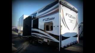 2013 Keystone Fuzion 342 toy hauler camper for sale in PA-Lerch RV-new Fuzion RV dealer