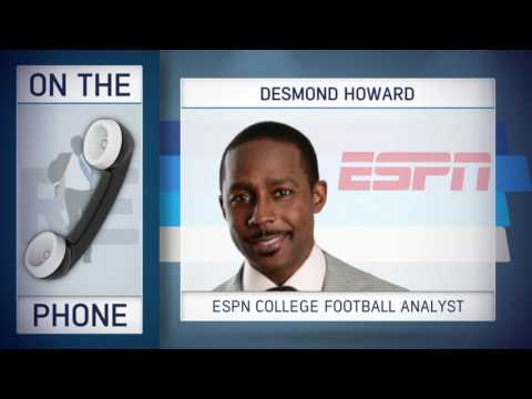 ESPN College Football Analyst Desmond Howard on How Concussions are Handles in NFL vs. NCAA - 9/9/16